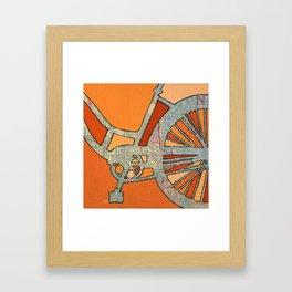 Bike Atlanta  Framed Art Print