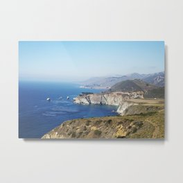 Beautiful Big Sur Metal Print