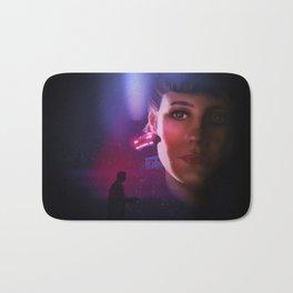 Rachael Blade Runner Poster Bath Mat