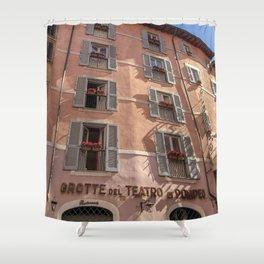 Grotte del Teatro Rome Shower Curtain