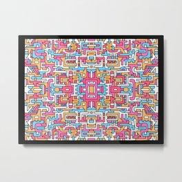 Sacred Patterns Metal Print