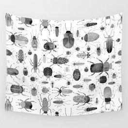 Ink Beetles Wall Tapestry