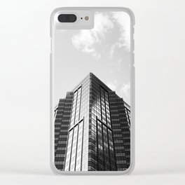 Reach the Sky Clear iPhone Case