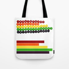 Skittle Stats Tote Bag