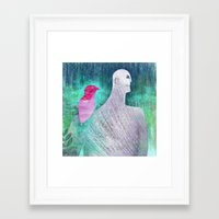 into the wild Framed Art Prints featuring Wild by Inmyfantasia