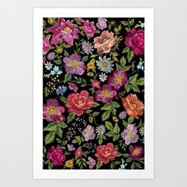 Bordado Art Print