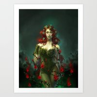 poison ivy Art Prints featuring Poison Ivy by franzkatter