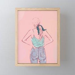 JULES_SUMMER VIBES Framed Mini Art Print