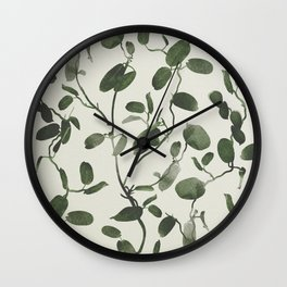 Hoya Carnosa / Porcelainflower Wall Clock