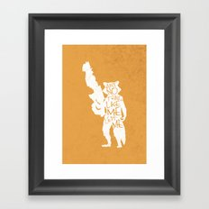 What's a Raccoon? Framed Art Print