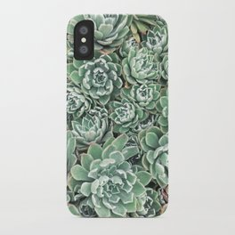 Succulent Bed iPhone Case