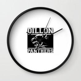 Dillon Panthers Wall Clock