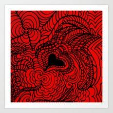 Hunk of Burning Love Art Print