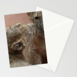 Lion Cubs Stationery Cards