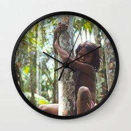 Climbing Trees Wall Clock