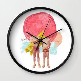 Boys of Summer Wall Clock