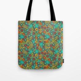 My doodling. Colorful ornamental circles. Tote Bag