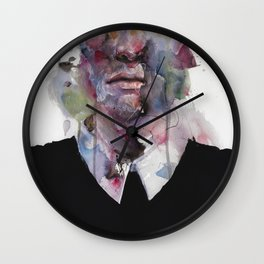 mr. afterthought Wall Clock