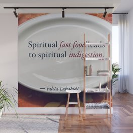 Spiritual Fast Food Wall Mural