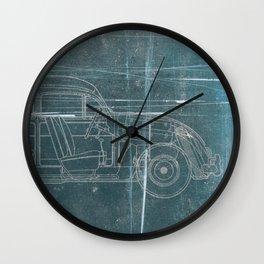Fusca Wall Clock