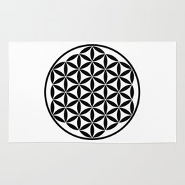 Pure Energy The Flower of Life Rug