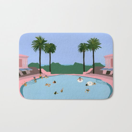 Welcome to Miami Bath Mat