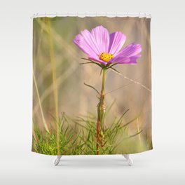 Beauty And A Critter Shower Curtain