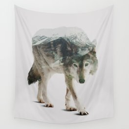 Winter Hunter Wall Tapestry
