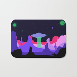 Hello ufo Bath Mat