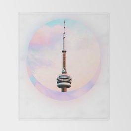 CN Tower Dreams Throw Blanket