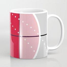 August - black and white graphic Coffee Mug