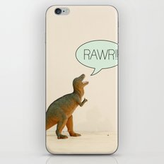 Dinosaur Rawr! iPhone & iPod Skin