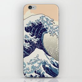 Digital copy of the Great wave iPhone Skin