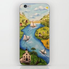 Hudson Vally Regatta iPhone Skin