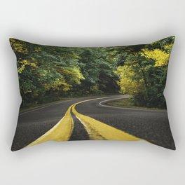 new england road Rectangular Pillow