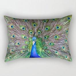 Peacock Katikati New Zealand Rectangular Pillow