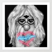 britney spears Art Prints featuring Furby Britney Spears - Britney Jean by Furby Living