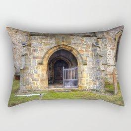 Holy Trinity Church, Wensley Rectangular Pillow