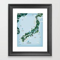 GOOD TOYS JAPAN Framed Art Print