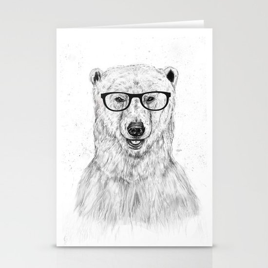 Geek bear Stationery Cards