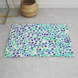 Turquoise Ivy Rug