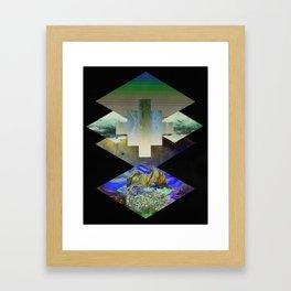 Alingani Purusha (noumenal consciousness) Framed Art Print