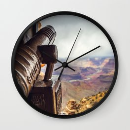 Canyon View Wall Clock