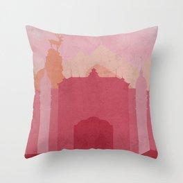 Budapest Hotel Throw Pillow