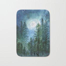 Silent Forest Bath Mat