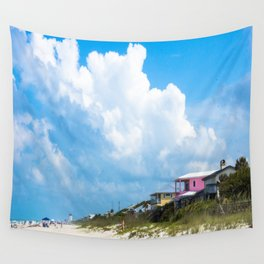 Memorial Beach Day Wall Tapestry