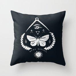 Anima Resurca Throw Pillow