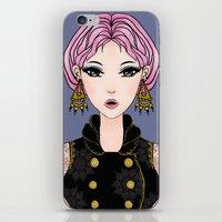 cocktail iPhone & iPod Skins featuring Cocktail by Samera Tseng