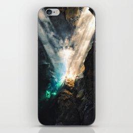 Vertical Grjótagjá iPhone Skin