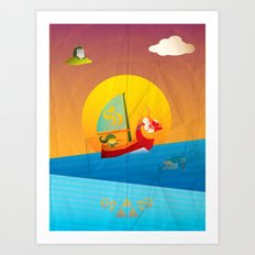 The Legend of Zelda - The Wind Waker Art Print